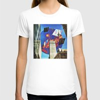 montreal T-shirts featuring Gateway To Montreal by Mathieu LaBerge