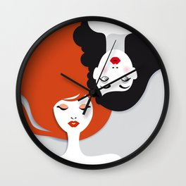 Beauty comes in all colors Wall Clock