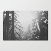 sunrise Canvas Prints featuring Sunrise by Luke Gram