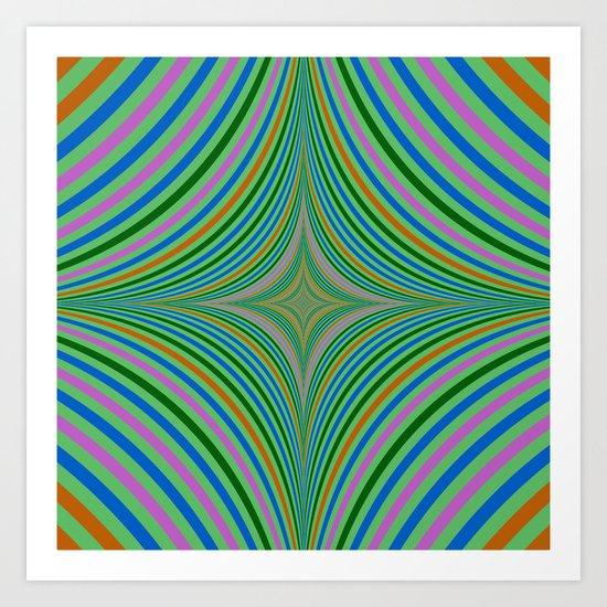 Falling into Infinity Art Print
