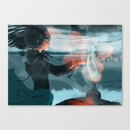 Altay teatime Canvas Print