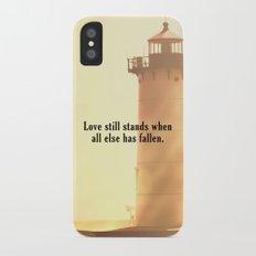Love Still Stands iPhone X Slim Case