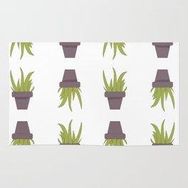 Aloe Plant Pattern Rug