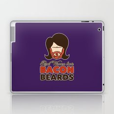 Bacon Beard (women's version) Laptop & iPad Skin