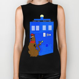 Doctor Scooby-Who Biker Tank