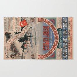Vintage poster - Orient Express Rug