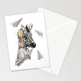 ease of dreams Stationery Cards