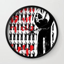 Intergalactic love - Emilie Record Wall Clock