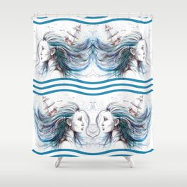 Oceans Shower Curtain