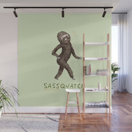 Sassquatch Wall Mural