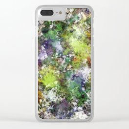 Scratching the surface Clear iPhone Case