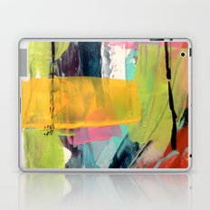 Hopeful[2] - a bright mixed media abstract piece Laptop & iPad Skin