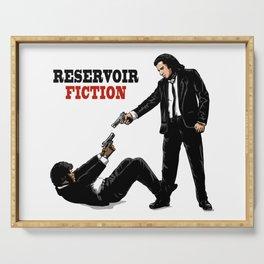 Reservoir Fiction Serving Tray
