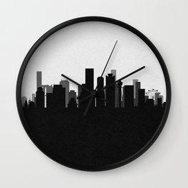 City Skylines: Osaka Wall Clock