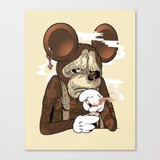 Mickey 3: Depression Canvas Print