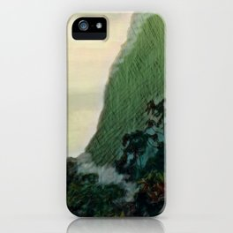 Mists In The Pitons: St. Lucia iPhone Case