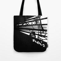 noir Tote Bags featuring Noir by Ryan Bradford
