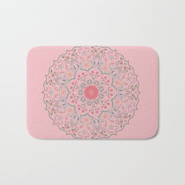 Flower Rounds Mandala Bath Mat