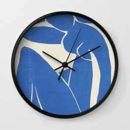 Blue Nude by Henri Matisse  Wall Clock