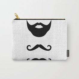 Moustache Carry-All Pouch