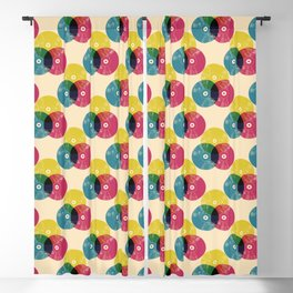 Music is the colors of life Blackout Curtain