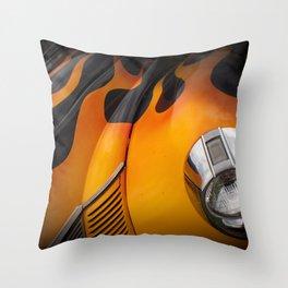 Hot Rod'n Throw Pillow