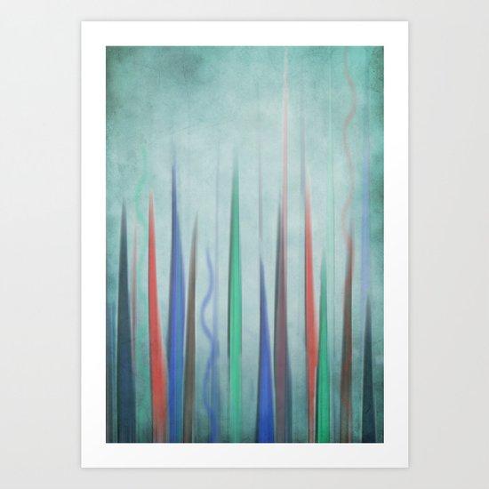 Color Rising Art Print