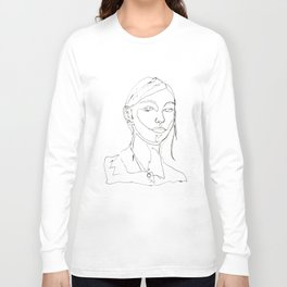 minimal drawing  Long Sleeve T-shirt
