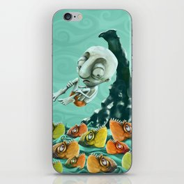 Take a Risk! - Piranhas iPhone Skin