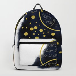 Inspirational Abstract Backpack