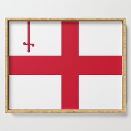 Flag of London Serving Tray