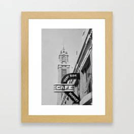 West Side Market B&W Framed Art Print