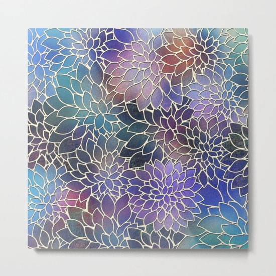 Floral Abstract 5 Metal Print