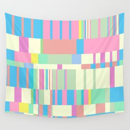 Chopin Prelude (Miami Beach Colours) Wall Tapestry