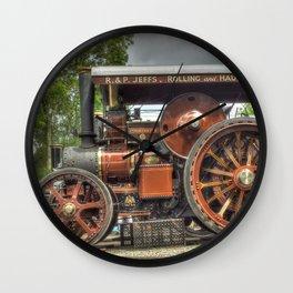 Fowler D5 Road Locomotive Wall Clock