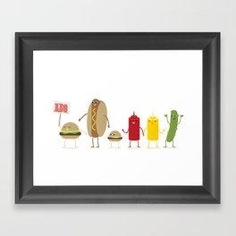 bbq'n Framed Art Print