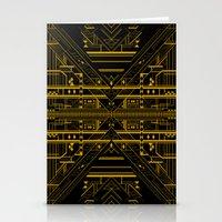 da vinci Stationery Cards featuring Da Vinci Code by CYRUSCOPE