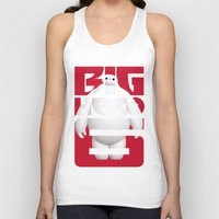 big hero 6 Tank Tops featuring Baymax - Big Hero 6 by Nguyen