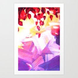 Red Drops Art Print