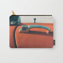 Red Convertible Carry-All Pouch