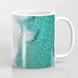 Waves spread out on the coast Coffee Mug