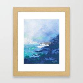 Caribbean Coast Framed Art Print