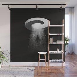 Mobius UFO Wall Mural
