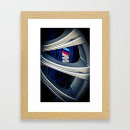Vertical M Framed Art Print