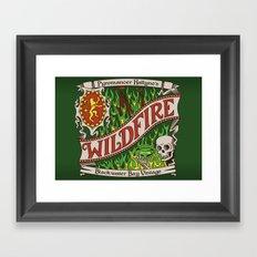 The Green Demon Framed Art Print
