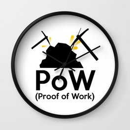 PoW - Proof of Work Wall Clock
