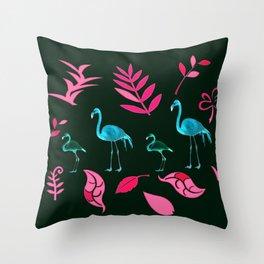 Flamingo Road, Throw Pillow