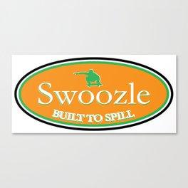 Swoozle Soil It Green Canvas Print