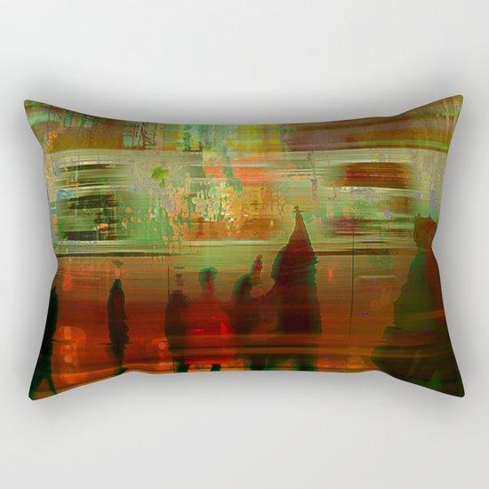 La station  Rectangular Pillow