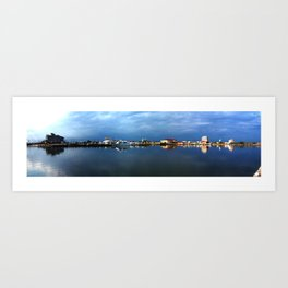 Gulfport, Mississippi Harbor Art Print